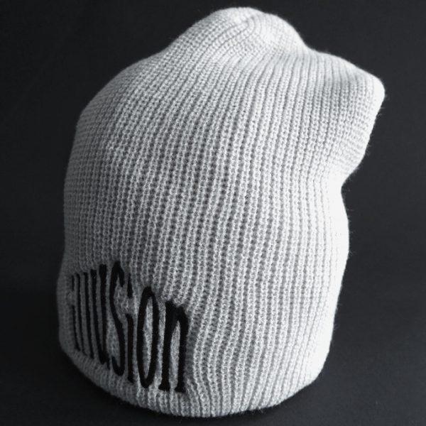 Zimowa czapka Illusion (szaro-czarna)